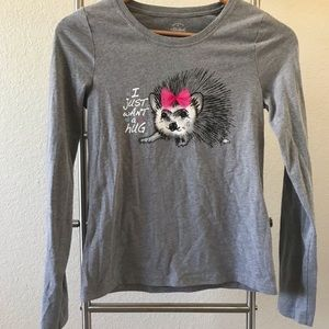 COPY - Faded Glory Long Sleeve Graphic Cotton Shi…